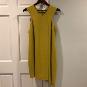 RACHEL Rachel Roy Chartreuse Asymmetrical Dress
